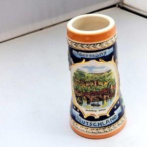 Mini Beer Stein Porcelain Mug Deutschland